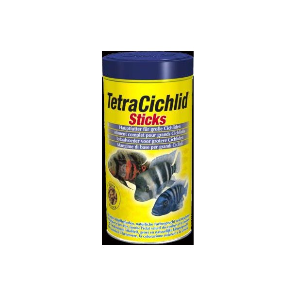 Tetra Cichlid Sticks 500 ml.