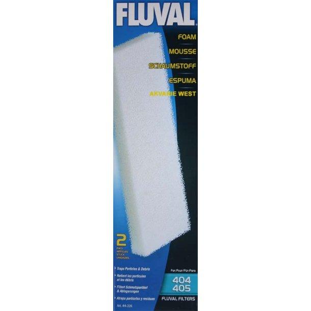 Filtersvamp til Fluval 404/405 (2 stk.)