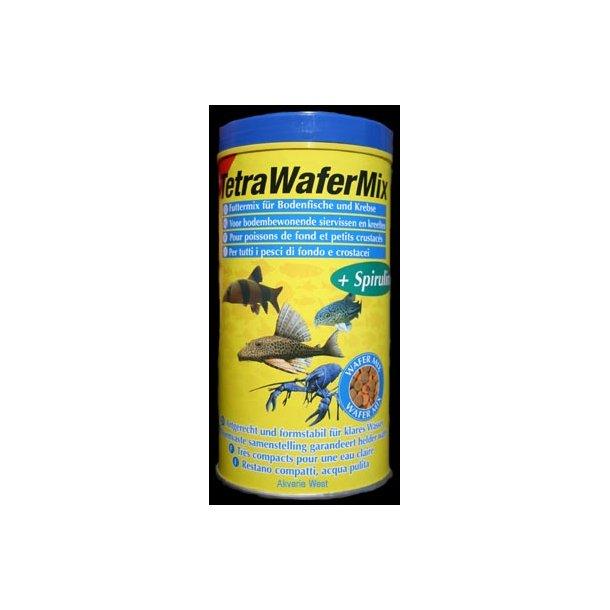 Tetra Wafermix med spirulina 1 lit.