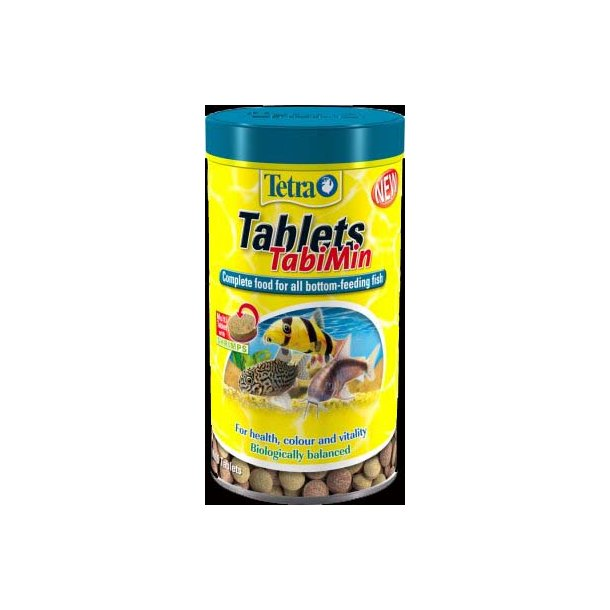 Tetra TabiMin (1000ml. 620g. 2050 tabletter)