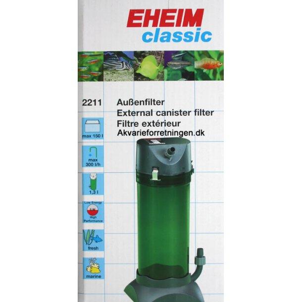 Eheim 2211 Classic  (ex. filtermaterialer)