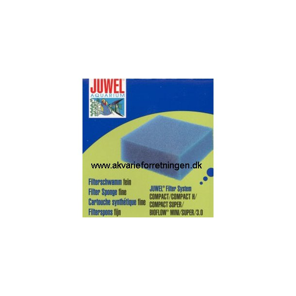 JUWEL Compact filtersvamp fin (M) 10x10x5 cm.