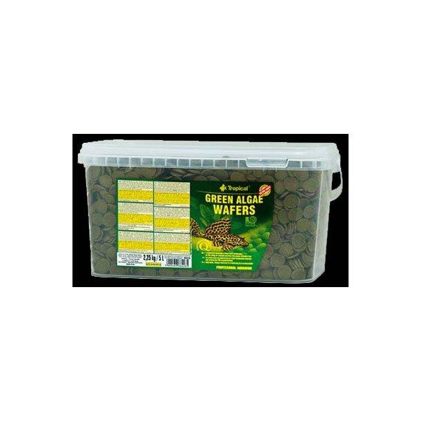 Tropical Algae Wafers 5 liter (2,25 kg.)