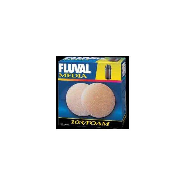Filtersvamp til Fluval 103