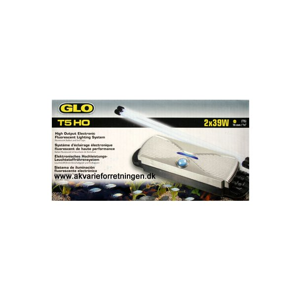 GLO T5 HO 2x39W udbygningssæt