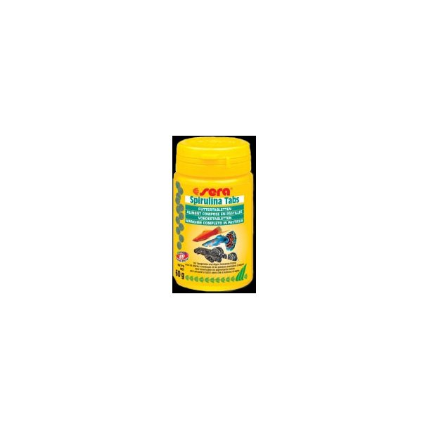 Sera Spirulina Tabs 100 tab. (100 ml.)