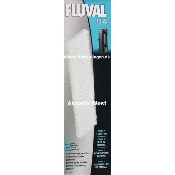 Fluval U4 Filtersvamp (2 stk)