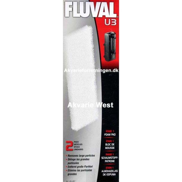 Fluval U3 Filtersvamp (2 stk)