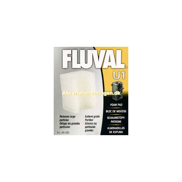 Fluval U1 Filtersvamp