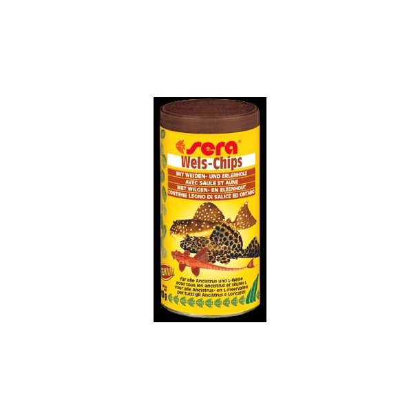 Sera Wels Chips 250 ml.