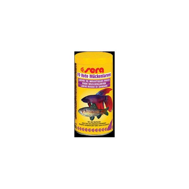 Sera FD Røde myggelarver 250 ml.