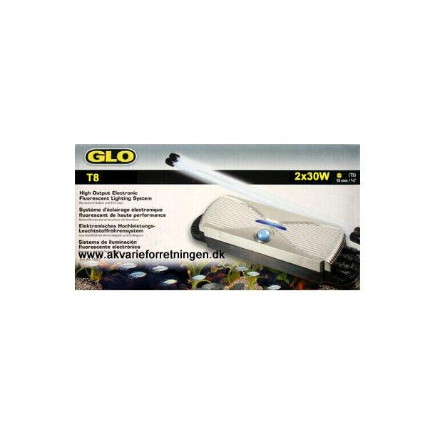 GLOMAT T8 2x20W udbygningssæt