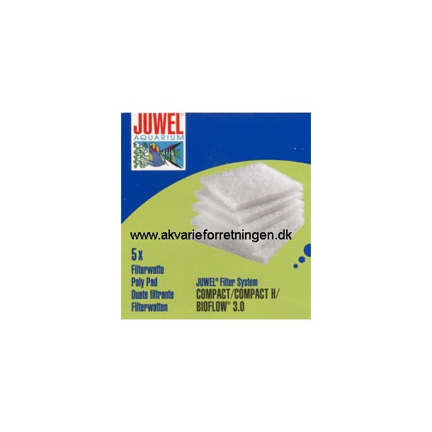 JUWEL Compact filtervat (M) 10x10 cm.
