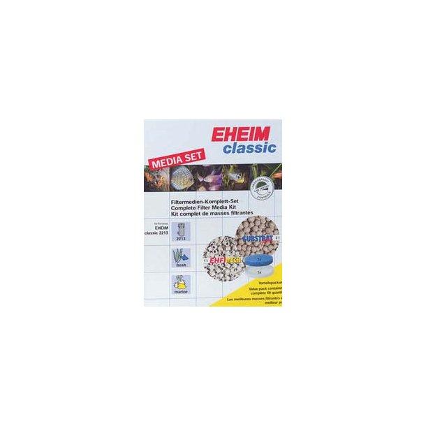 Filtermaterialesæt til Eheim 2217