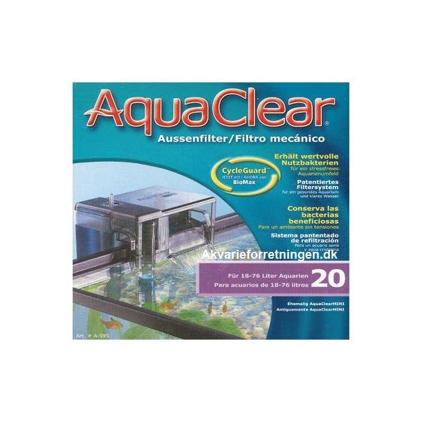 AquaClear Hængefilter 20 til Fluval Edge