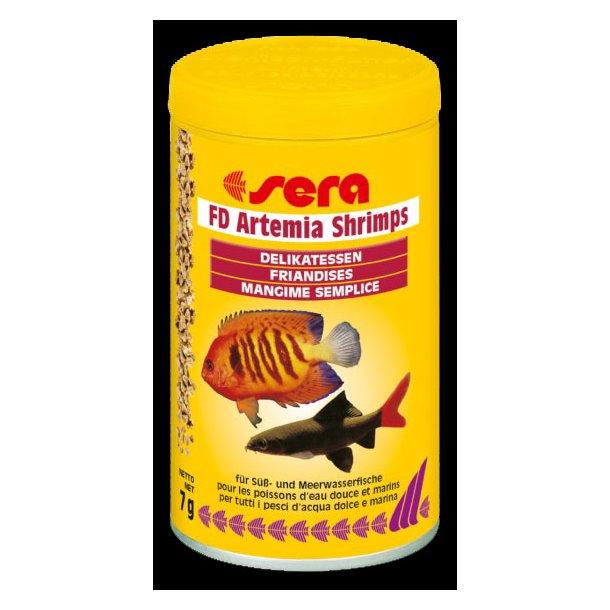 Sera FD Artemia Shrimps 250 ml.