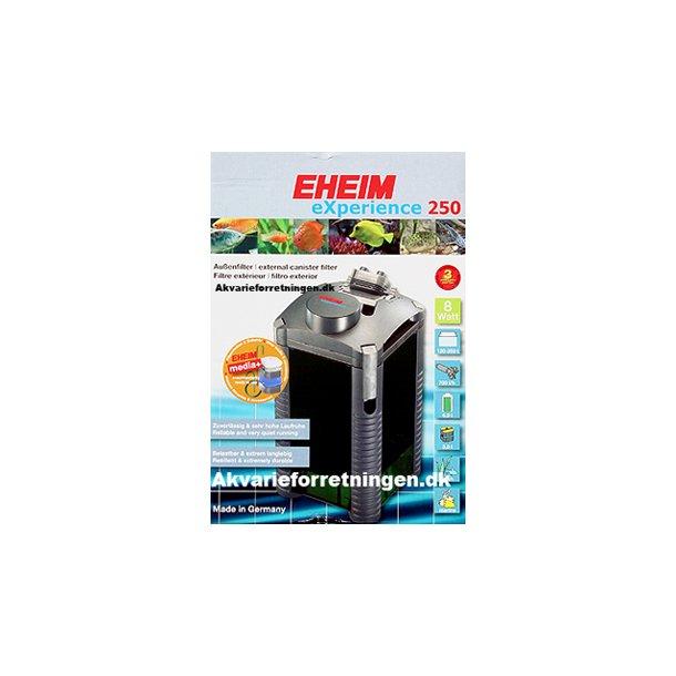 EHEIM eXperience 250 incl. filtermaterialer.