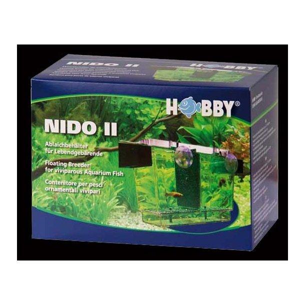 Fødekasse med låg (NIDO II)