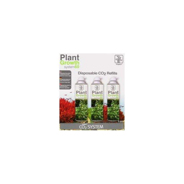Tropica Plant Growth 60 Refills (3 stk.)