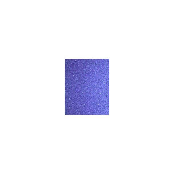Blå filtermåtte størrelse 100x100x3 cm