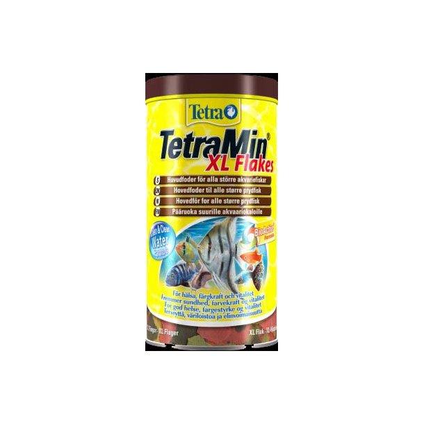 Tetra Min XL flakes 10 liter.