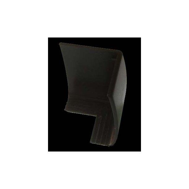 1 Hjørne til Mark II akvarium (sort) til bund.