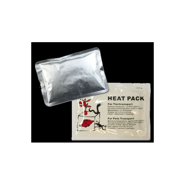 Heat Pack ca 40 timer.