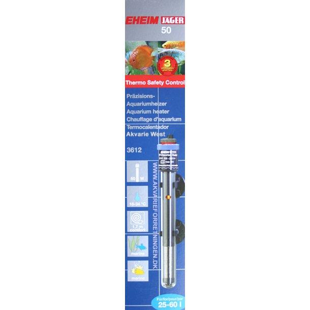 EHEIM Jäger 3612 termostatvarmelegemer 50W