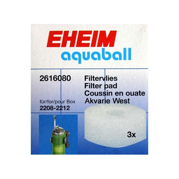 Filtervatskiver (3 stk.)